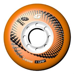 Hyper Concrete Orange 76mm (4 pk)